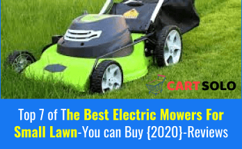 Best Electric Mowers For Small Lawn
